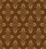 Patrón floral vintage — Vector de stock