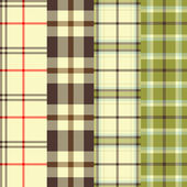 Plaids — Stock Vector