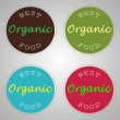 Organic food labels — Stock Vector #31189893