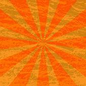 Grunge sunburst background — Stock Vector