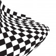Chequered flag — Stock Vector