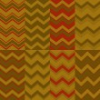 Chevron patterns — Grafika wektorowa