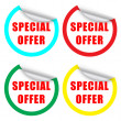Special Offer Label — Stock Vector