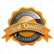 Satisfaction guarantee label — Imagen vectorial