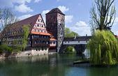 Nuremburg old town — Stock Photo