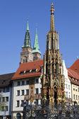 Nürnberg monument — Stockfoto