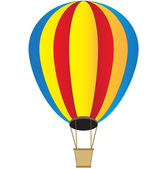 Hot air balloon — Vecteur