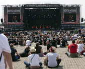 Rock am Ring Rock Festival — Stock Photo
