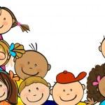 Children together — Stock Vector