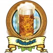 Oktoberfest beer — Stock Vector #23793951