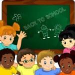 ������, ������: Children at school