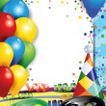 Carnival and confetti — Stock Vector