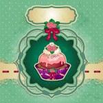 Dessert rose — Stock Vector #48934223