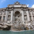 Fontana di Trevi Rome, Italy - Stock Photo