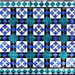 Ceramic tile pattern  — Stock Photo