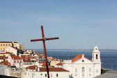 A view of Lisbon — Stock Photo