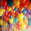 Lots of balloons — Stock Photo