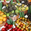 Stock Photo: Tropical fruit stand