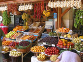 Fruit stand — Foto de Stock
