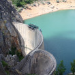 Water dam — Stock Photo