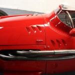 Vintage sport car detail — Stock Photo #18108407