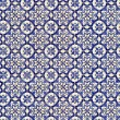 Royalty-Free Stock Photo: Seamless tile pattern of ancient ceramic tiles