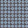 Seamless tile pattern of ancient ceramic tiles - Stock Photo