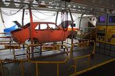 Ancient car factory — Stock Photo