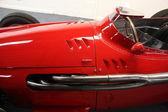 Vintage sport car detail — Stock Photo