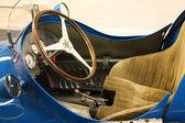 Vintage sport car detail — Stockfoto