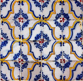 Seamless tile pattern of antique tiles — Stock Photo