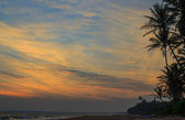 Sunset in Sri-Lanka — Stock Photo