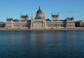 Parliament in Budapest — Stock Photo