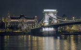 The Chain Bridge — Stock Photo