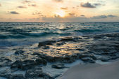 Sunrise on the Atlantic Ocean — Stock Photo