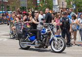 シカゴでは、ゲイパレード 2014 — ストック写真