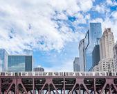 Métro de chicago — Photo