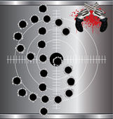 Bullet holes — Stock Vector