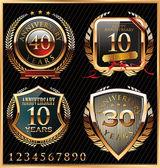 Anniversary design — Stock Vector
