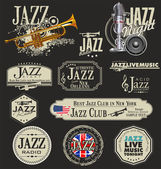 Jazz music — Stockvector