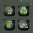 Recycle sign — Vector de stock #26849061