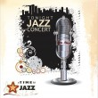 Jazz background — Imagen vectorial