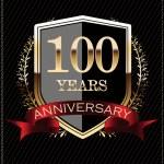 Anniversary sign card — Vecteur #26849995
