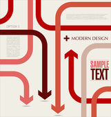 Modern design template — Stock vektor