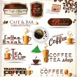 Retro style coffee vintage collection — Stock Vector #26850499