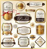 Etiquetas de calidad premium — Vector de stock