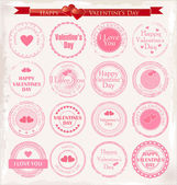 Love and Valentines background — Stock Vector