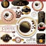 Coffee and tea design — Stock Vector #27104057
