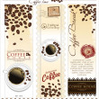 Coffee house menu label — Stock Vector