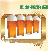 Beer festival — Stock Vector